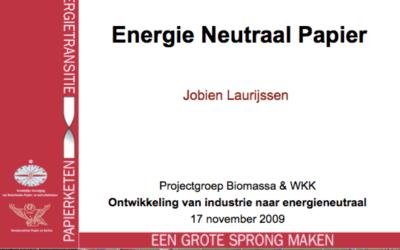 Energieneutrale industrie met biowkk – Heteren